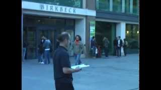 [Earth and Planetary Sciences] Using a compass outside Birkbeck (Part I)
