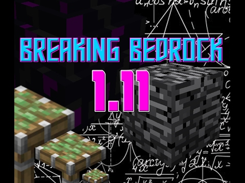 How To Break Bedrock Amp Get To Nether Roof Tutorial