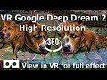 VR Google Deep Dream 2 High Resolution 360 4K video