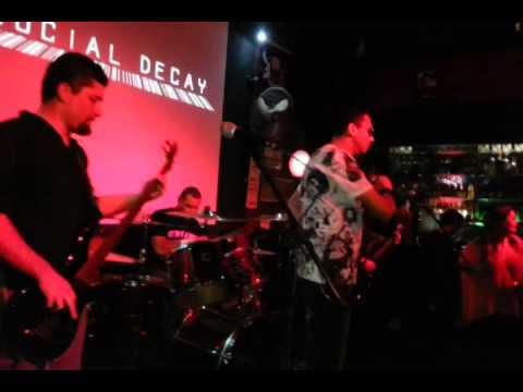 Social Decay - Aerials (Live @ Calabouço Heavy & Rock Bar)