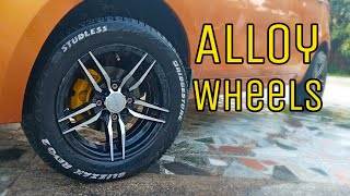 Alloy wheels for TATA TIAGO in cheap price by Cars Addiction