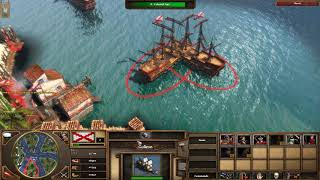 Age of Empires 3 Full game All Cheats Used in Game All out War Part 1.