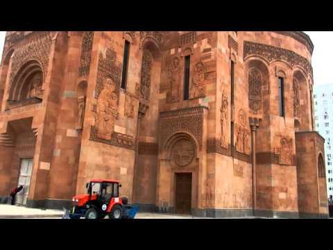 Армянский храм в Москве - 25 ноября 2012