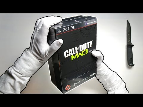 MW3 HARDENED EDITION UNBOXING! Call of Duty Modern Warfare 3 Limited Collector's Gameplay MOAB