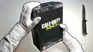 MW3 HARDENED EDITION UNBOXING! Call of Duty Modern Warfare 3 Limited Collector