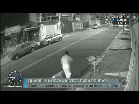 Presa quadrilha que usava motos potentes para cometer roubos | SBT Brasil (22/08/18)