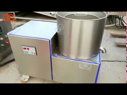 Fried Food Deoiling Machine|potato |banana Chips Oil Removal Machine