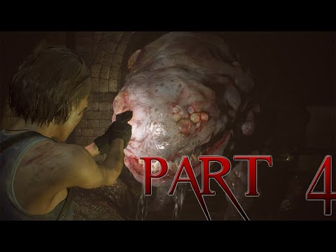 HUNTER Y's ? Sewer Tunnels Are TERRIFYING! - RE3 REMAKE (2020) WALKTHROUGH