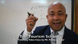 How to Create PNR by Prabir The Tourism School How to do Air Ticketing, Air Ticketing Institute