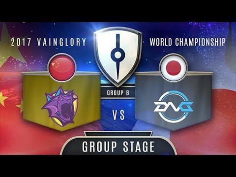 Team Kraken (CN) VS Detonation Gaming (EA) - Razer 2017 Vainglory World Finals - Group Stage