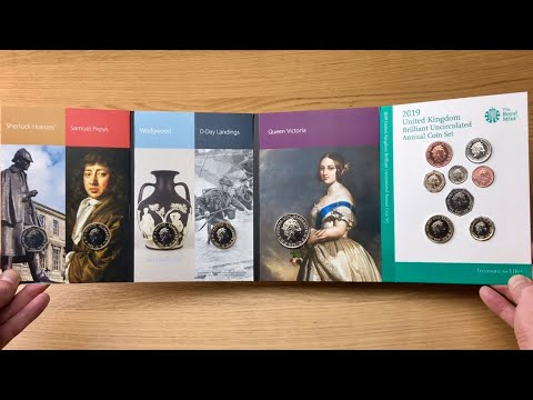 2019 UK ANNUAL COIN SET || IN HAND - FIRST LOOK || ROYAL MINT || 2019 VIDEO