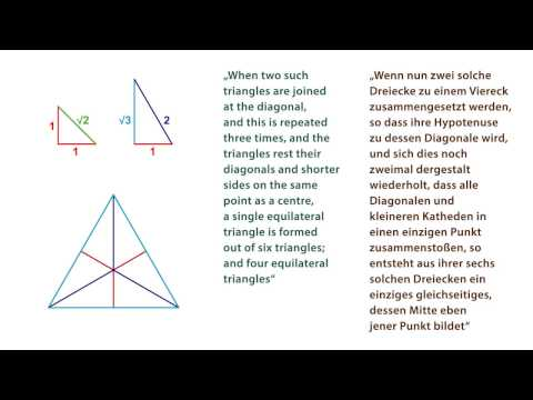About Triangles in Plato's Timaeus