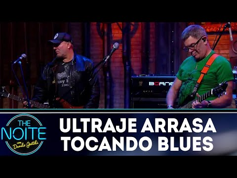 Ultraje a Rigor toca blues | The Noite (24/08/18)
