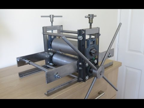 How to Make an Etching and Lino Printing Press