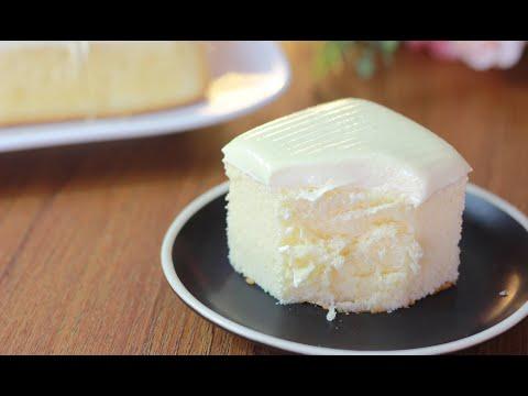 ชิฟฟ่อนเค้กหน้าเนยสด Butter Chiffon Cake เนื้อเค้กเนื้อนุ่ม ชุ่มๆ หอมเนย EP.107