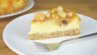 Cheesecake Caramel et Noix de macadamia