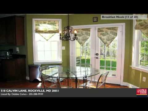 518 Calvin Lane, Rockville  MD  Temporarily Withdrawn