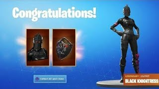 "GET THE ""BLACK CHIVAL"" SKIN FOR FREE. MERCI FORTNITE ✔"