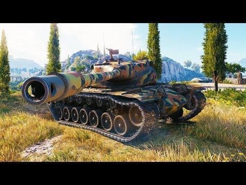 T57 Heavy, НАГИБАЕТ