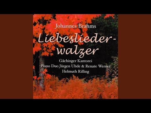 Neue Liebeslieder Waltzes, Op. 65: No. 14, Flammenauge dunkles Haar