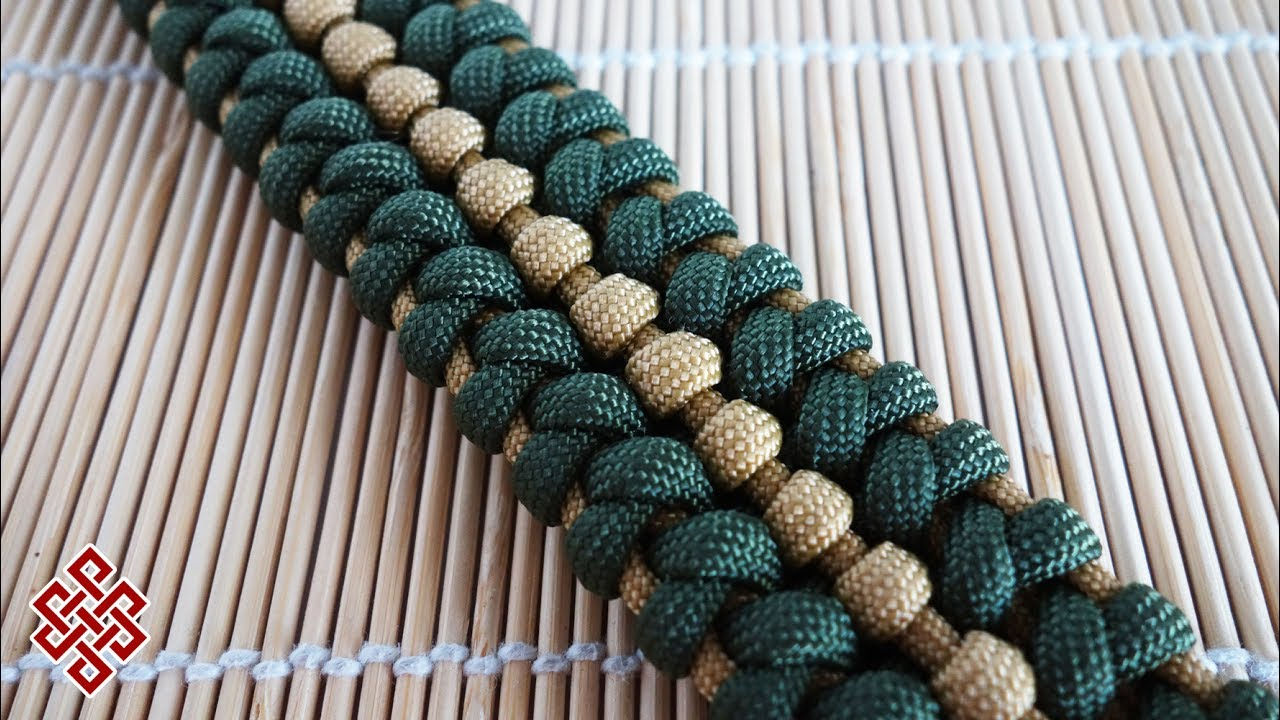 How to make the t 34 85 knot paracord bracelet tutorial for What can you make out of paracord