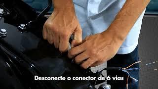 Instalação do alarme Pósitron DuoBlock dedicado para Honda CG 150 Fan e CG 150 Titan