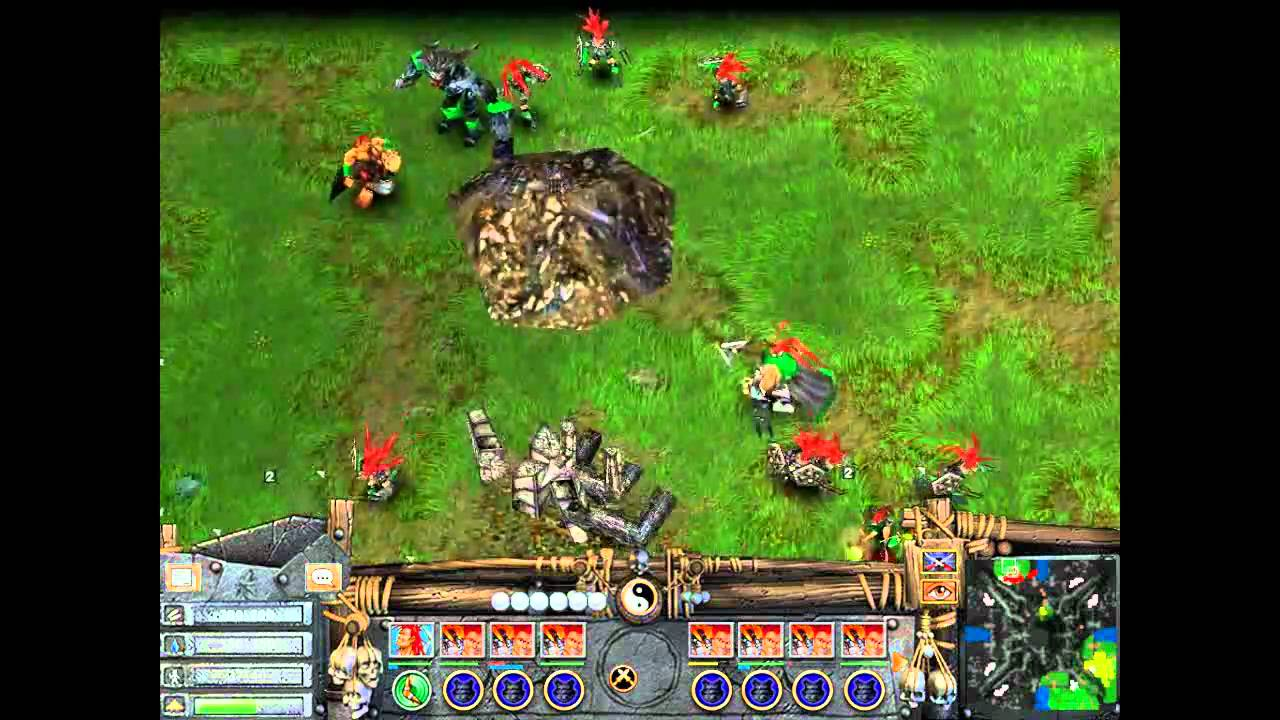 Battle Realms Winter Of The Wolf Gameplay Youtube