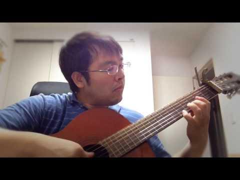 北国の春 演歌 Spring in North Country - Japanese Enka Music - Classical Guitar solo by tkviper