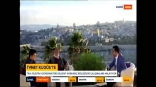 TVNET'in Kudüste Ramazan Programında TİKA'nın Filistin'deki Faaliyetleri Konuşuldu