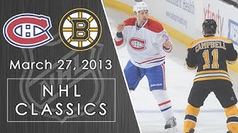 NHL Classics: Canadiens storm back against rival Boston Bruins | 3/27/13 | NBC Sports