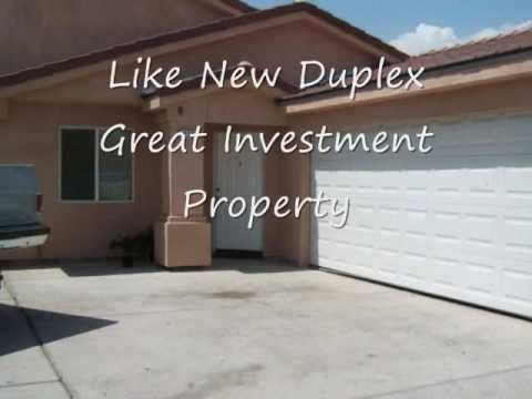 Duplex For Sale - Palm Springs Area - Motivated Seller!