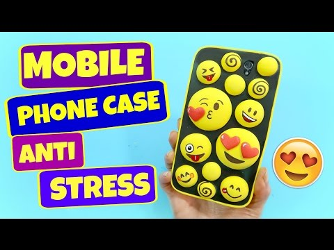 How To Make Mobile Cover At Home Emoticons. Easy Crafts