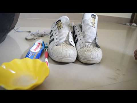 How To Clean White Shoes In 5 Minutes ? | DIY