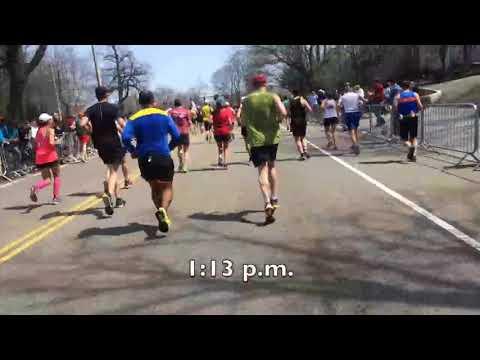 Video Guide To Boston Marathon, Part 6, Newton, Brookline And Boston, Miles 17 To 25