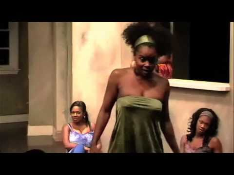 For Colored Girls: Lady in Green - Tiffany Snow