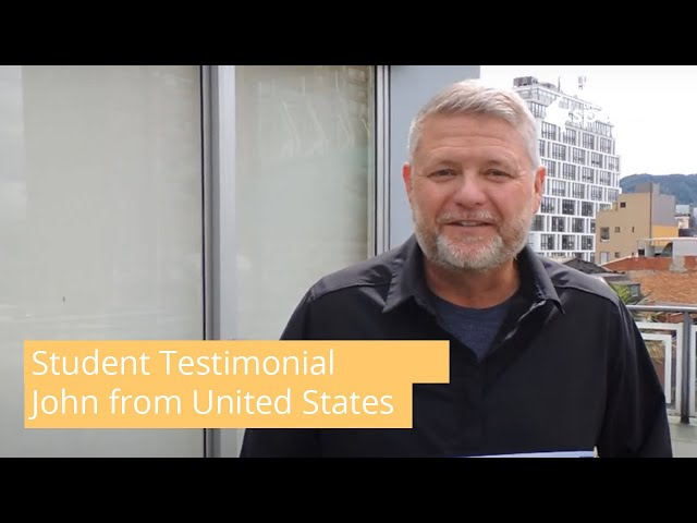 General Spanish Course Student Testimonial by John from USA