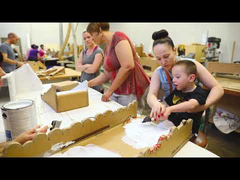 Project Creates Adaptive Equipment For Kids Out Of Cardboard