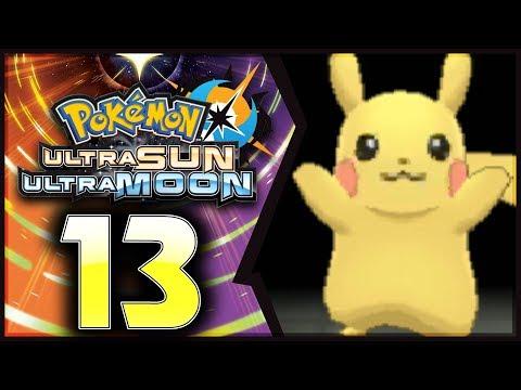 Pokemon Ultra Sun and Moon: Part 13 - Pikachu Village! [100% Walkthrough]