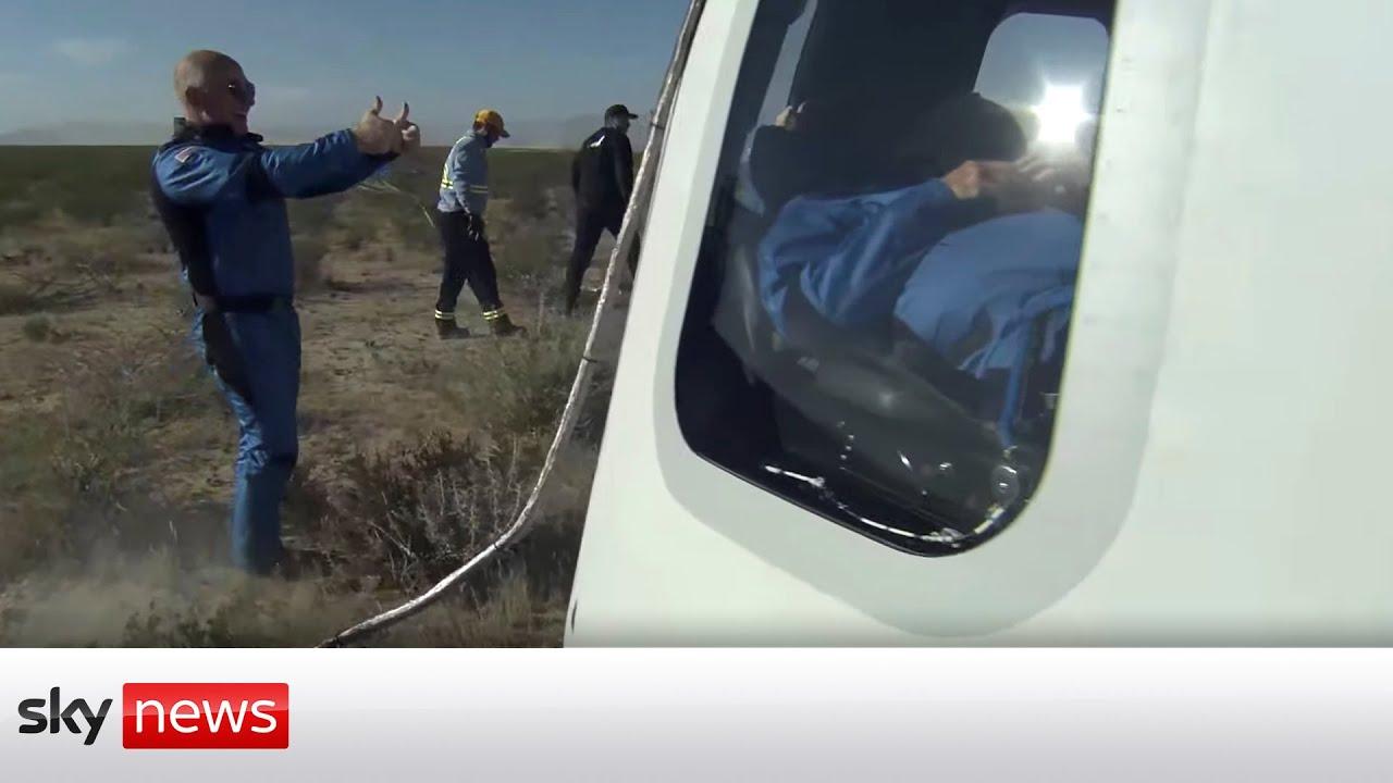 Download Watch in full: Star Trek actor William Shatner goes into space on board Blue Origin rocket