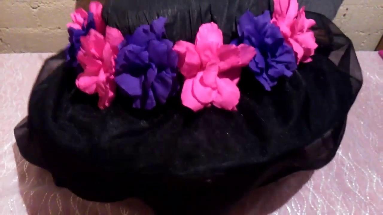 Como Hacer Un Sombrero De Catrina - YouTube 1b74d00b65b