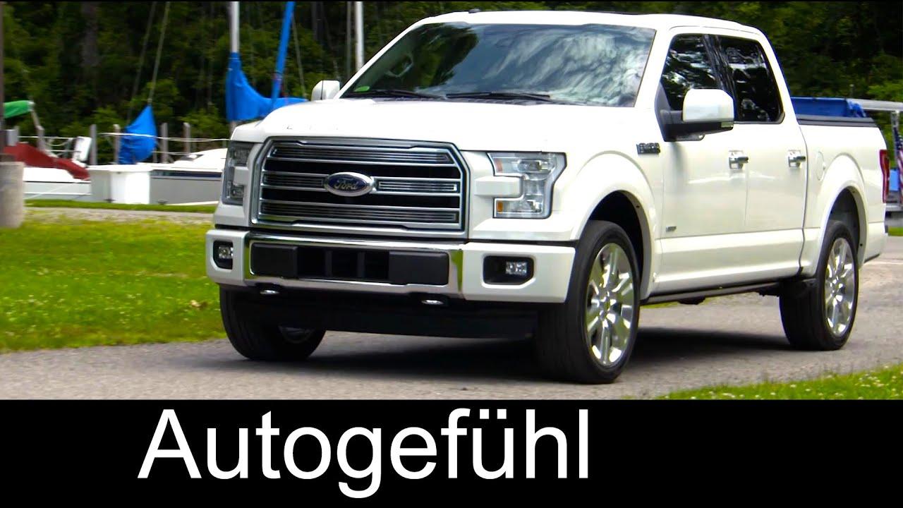 2016 Ford F 150 Limited Exterior/Interior   Autogefühl   YouTube