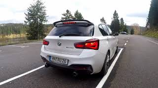 BMW M140i Starts Up & Sound! M-Performance Exhaust System & Akrapovič Downpipe ( 1080p )