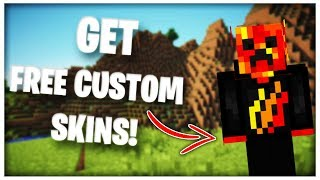 Gambar cover How To Get *FREE CUSTOM SKINS* In Minecraft Xbox One!