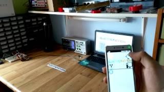 Bluetooth app arduino control - Test1