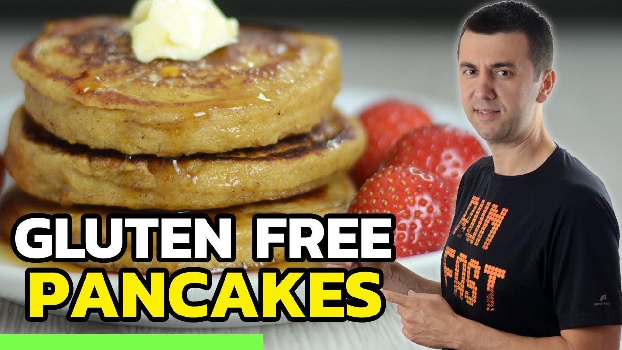 Fluffy Gluten Free Pancake Recipe (No Sugar Added)