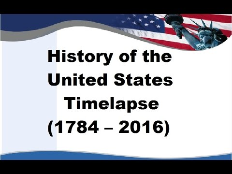 History of the United States – Timelapse (1784 – 2016)