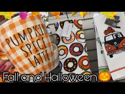 Marshall's Fall and Halloween Home Decor Shopping 2019