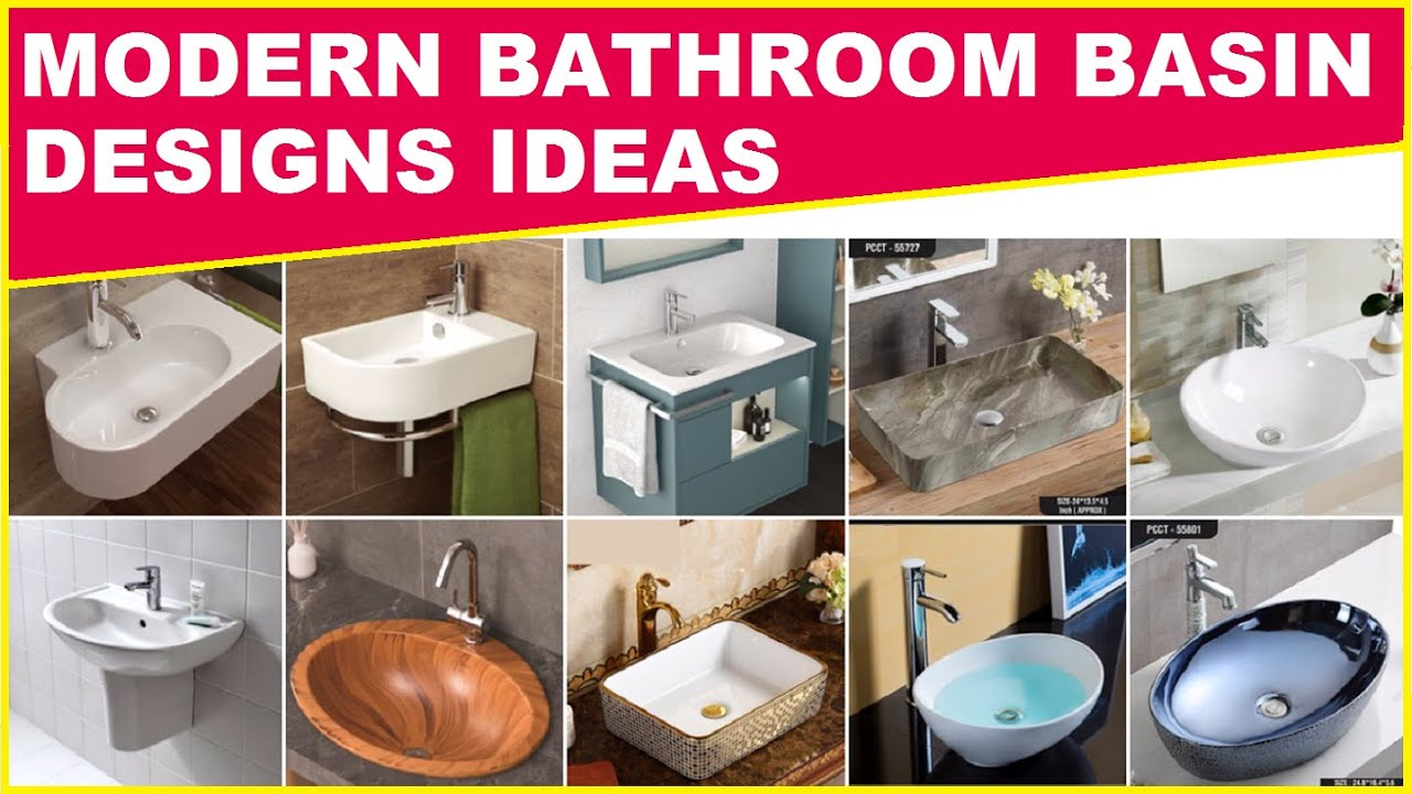 Download Bathroom Basin Designs for House, Modern Bathroom Decor Ideas, New Washroom Basin Styles 2021