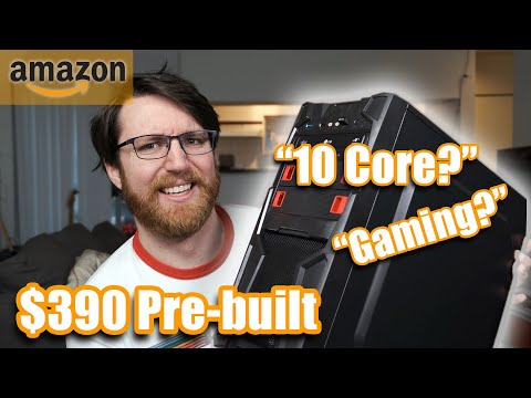 I bought the cheapest 'gaming' pre-built PC on Amazon.com