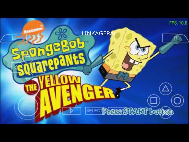 novo jogo do bob esponja para android